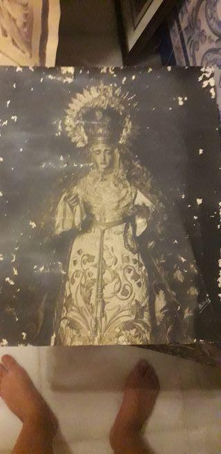 Foto virgen de los Dolores de la Palma