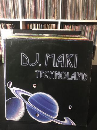 DJ MAKI TECHNOLAND