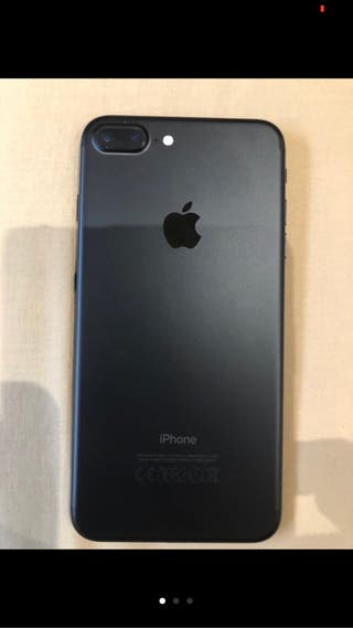 Iphone 7 plus con funda de apple