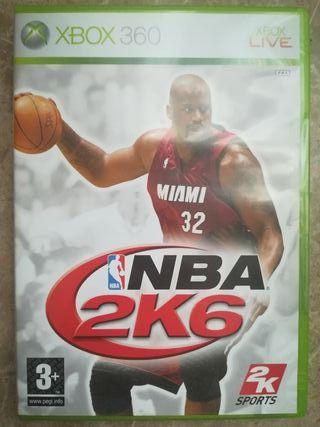 Juego NBA 2K6
