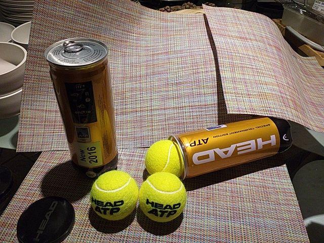 Tubos de pelotas de tenis