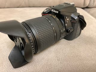 Nikon D5300 + objetivo 18-140mm VR