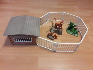 Playmobil Tigres Zoológico