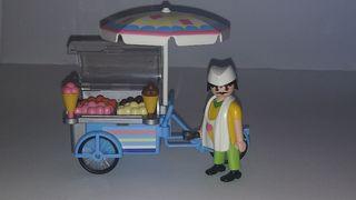 Playmobil heladero.