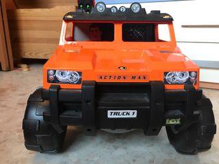 Action Man coche Hummer y motocross