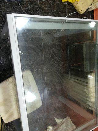 mesa de cristal 120x90 extensible