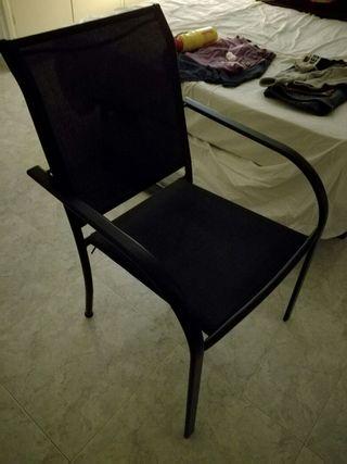 taula + 2 cadires per jardí o terrassa