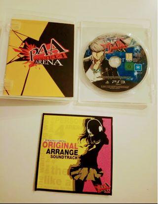Persona 4 Arena Ps3