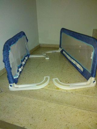 Barreras protección para cama
