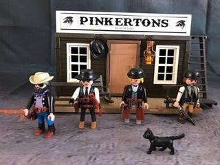 Playmobil pinkertons casa