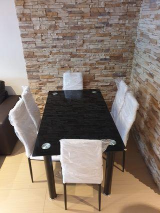 Mesa de comedor con 6 sillas oferta