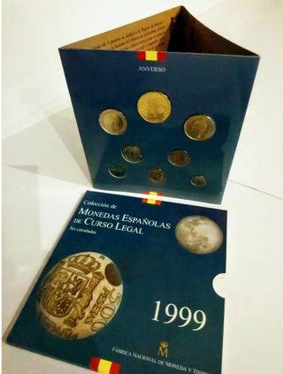 Set monedas 1999