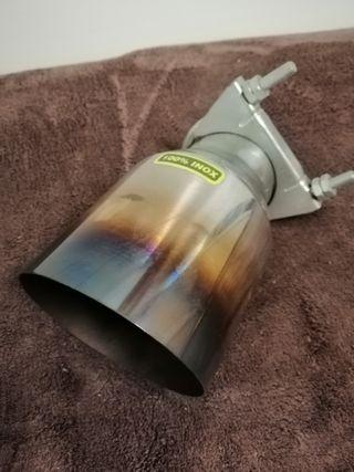 tubo escape embellecedor