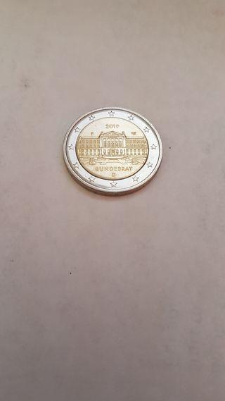 Moneda de 2 euros conmemorativa Alemania 2019