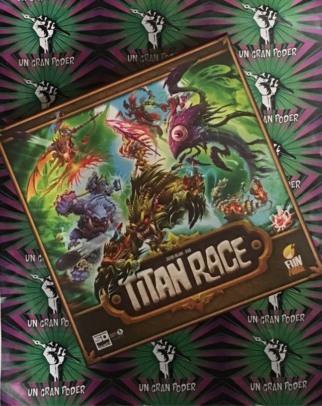 TITAN RACE (JUEGO DE TABLERO) SD GAMES