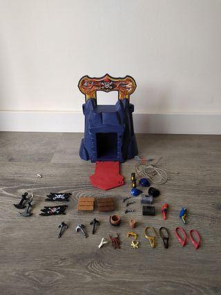 Playmobil lote de objetos piratas