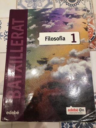 Llibre Filosofia 1r batxillerat