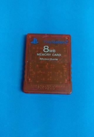 Memory Card Playstation 2 (rubi)