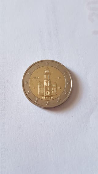 Moneda conmemorativa 2 euros Alemania 2015 Hessen