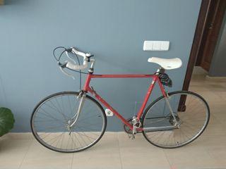Bicicleta carretera retro vintage