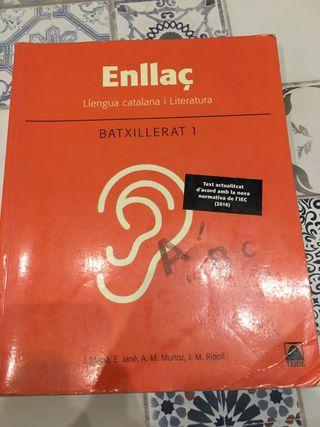 Llibre Llengua Catalana i Literatura 1r Batx