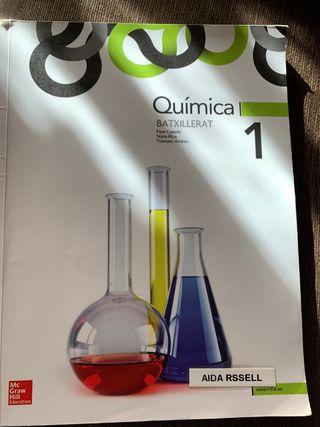 Llibre Quimica 1 batxillerat