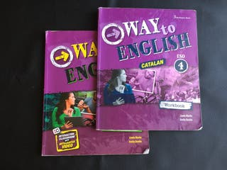 Libro de inglés: way to the English