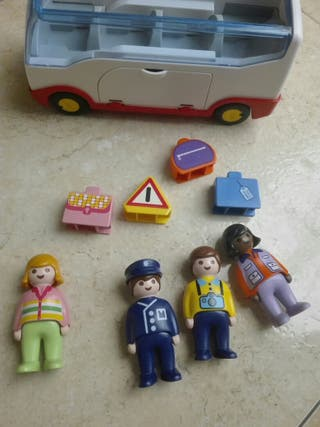 ¡REBAJADO! Autobús Playmobil 1 2 3