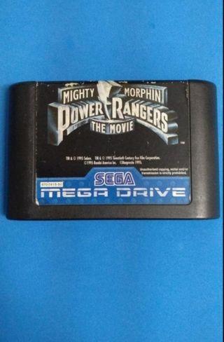 Mega Drive - Power Rangers: the movie