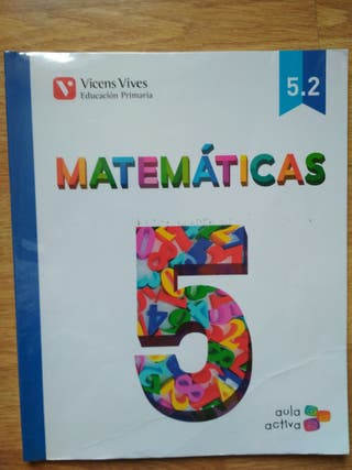 Libro Matemáticas 5° primaria 2° cuatrimestre