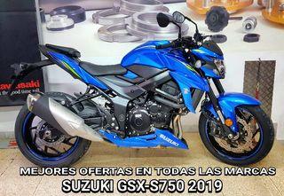 2019 SUZUKI GSX-S750 MOTOS NUEVAS MEJORES OFERTAS