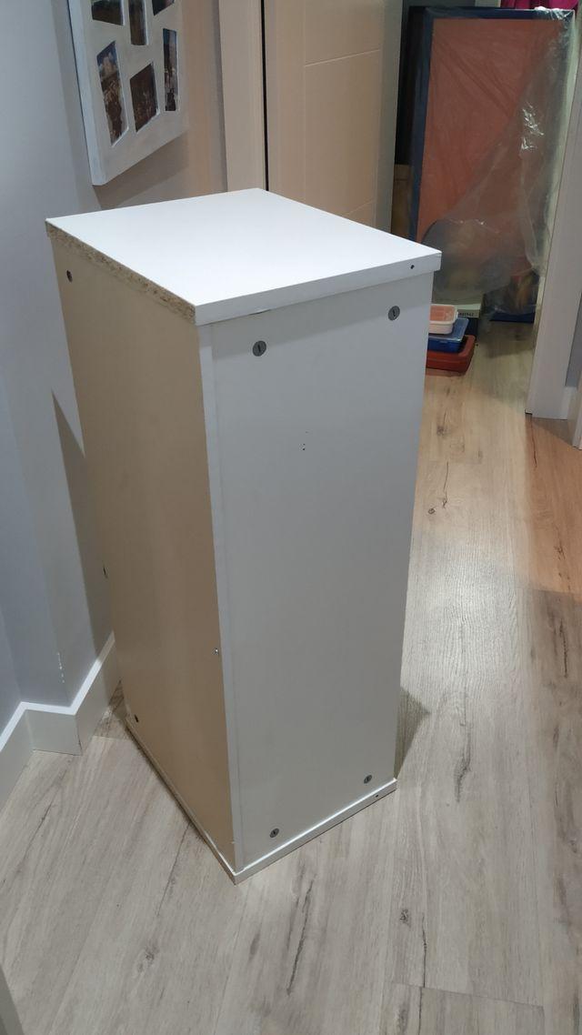altillo para libreria Billy de Ikea blanco