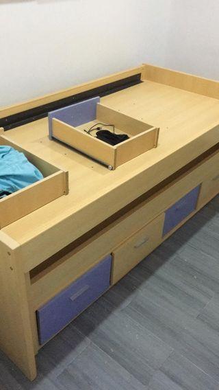 regalo habitación de niño :cama doble, armario,...