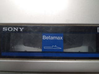Betamax-video reproductor Sony