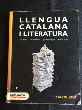 Libros de castellano y catalán