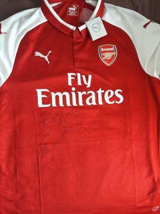 signed arsenal shirt
