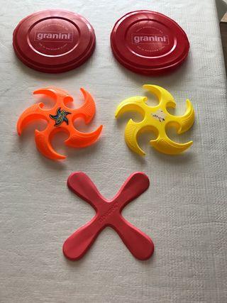 5 frisbee