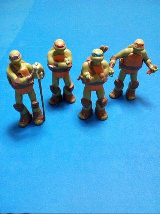 lote tortugas ninja (viacom) 7,3ctm