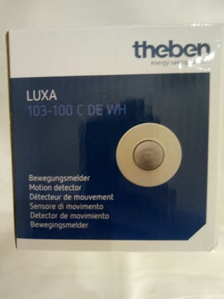 detector movimiento theben luxa 103-100c DE WH