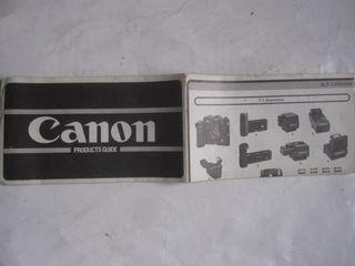 folleto productos canon fotografía products guide