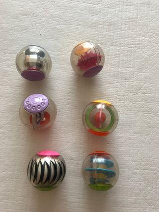 6 pelotas sensoriales fisher price