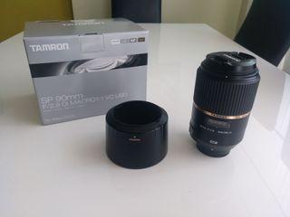 Tamron 90mm Macro para Nikon.