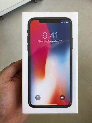 CAMBIO iPHONE X 256GB