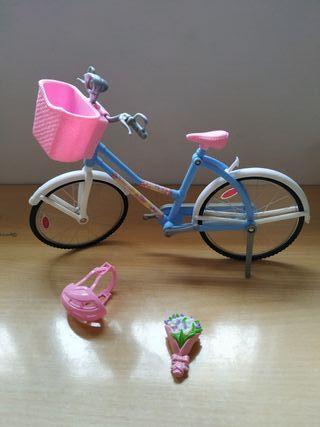 Bicicleta Barbie Muñeca