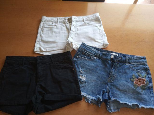 3 pantalones por 10€ (los 3)