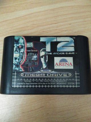 T2 arcade Game Megadrive