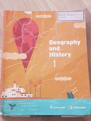 Libro Geography and History 1 ESO Santillana