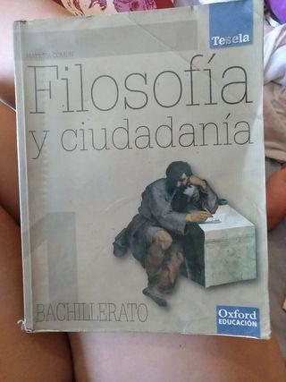 libro de filosofía y ciudadanía. Oxford