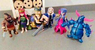 Lote muñecos clash royal