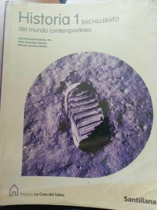 libro de historia del mundo contemporáneo. 1° bach